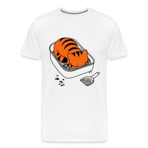Litter Box Slumber - Men's Premium T-Shirt