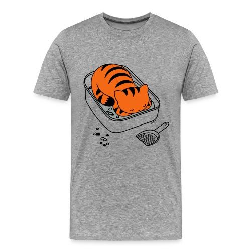 Litter Box Slumber - Men's Premium T-Shirt