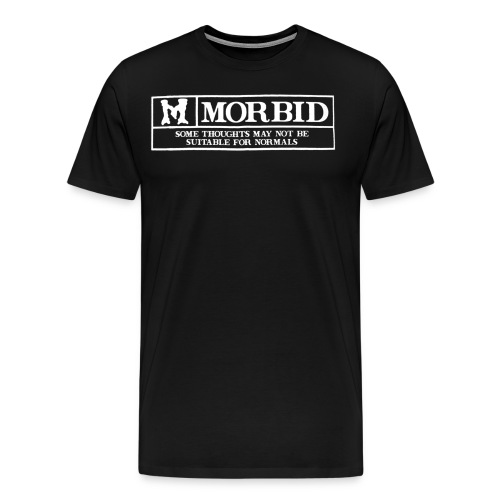 M is for Morbid - Mens - Men's Premium T-Shirt