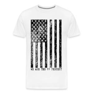 We Are The 99 Percent Flag Shirt - Men's Premium T-Shirt