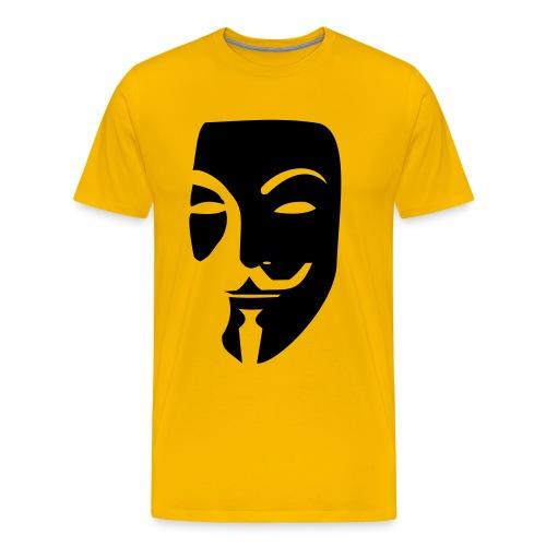 Anonymous Mask - Men's Premium T-Shirt
