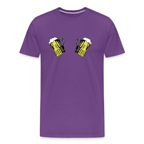 2 Beers - Men's Premium T-Shirt
