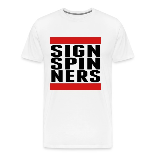 SIGN_SPIN_NERS - Men's Premium T-Shirt