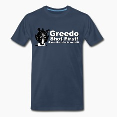 Star Wars - Greedo Shot First