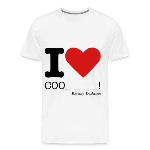 I Love Cookies - Men's Premium T-Shirt