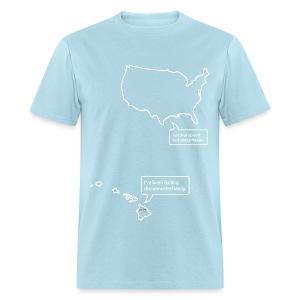U.S. and Hawaii T-shirt - Men's T-Shirt