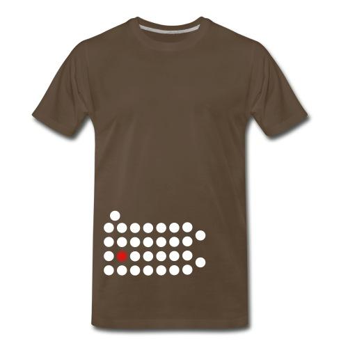 PIttsburgh Dot Shirt - Men's Premium T-Shirt
