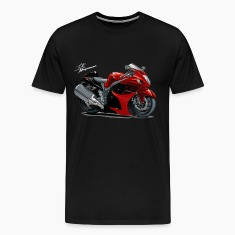 Suzuki Hayabusa Red Bike T-Shirts