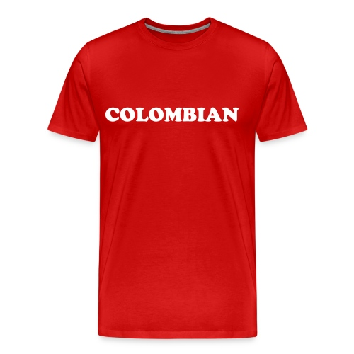 LUGAGE COLOMBIAN - Men's Premium T-Shirt