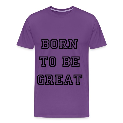 More then great - Men's Premium T-Shirt
