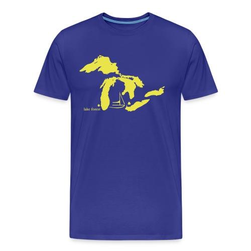 Lake Forest - Men's Premium T-Shirt