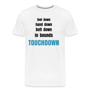 The Definition of Touchdown - Men's Premium T-Shirt