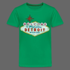 Welcome Fabulous Detroit - Kids' Premium T-Shirt
