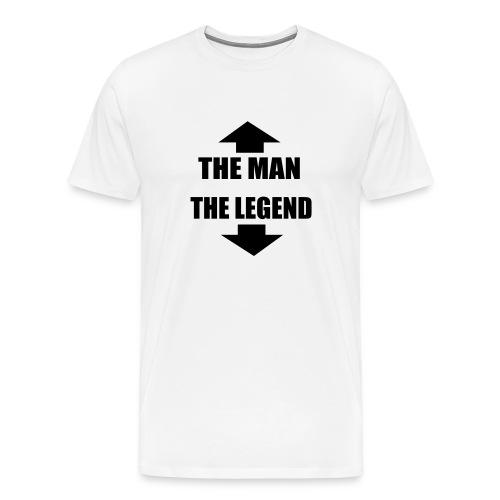 THE MAN THE LEGEND - Men's Premium T-Shirt