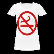 Women's T-Shirts ~ Women's Premium T-Shirt ~ no smoking