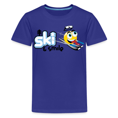 Smile And Ski Kids' Shirts
