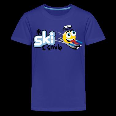 Smile And Ski Kids' Shirts