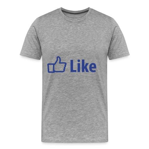 A facebook (LIke) T Shirt - Men's Premium T-Shirt