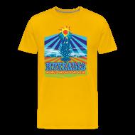 T-Shirts ~ Men's Premium T-Shirt ~ Lobster Sun King - on front