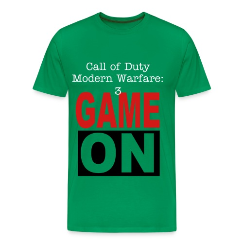 MW3 Game On! - Men's Premium T-Shirt