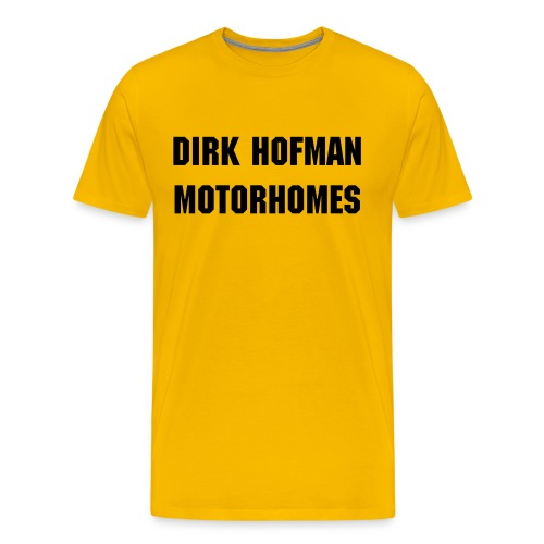 DIRK HOFMAN MOTORHOMES - Men's Premium T-Shirt