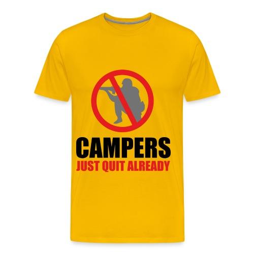 Stop Camping - Men's Premium T-Shirt