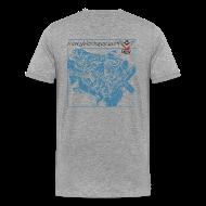 T-Shirts ~ Men's Premium T-Shirt ~ Y-Block Guy cutaway
