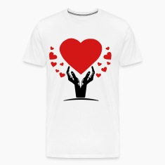 hand of love T-Shirts