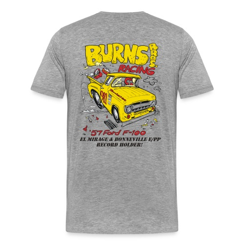 Flying Yellow Brick 981 E/PP Burns Bros. Racing - Men's Premium T-Shirt