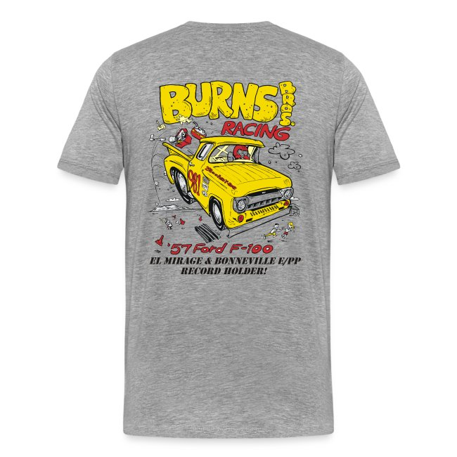 """Flying Yellow Brick"" 981 E/PP Burns Bros. Racing"