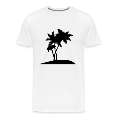 palm trees darr T-Shirts