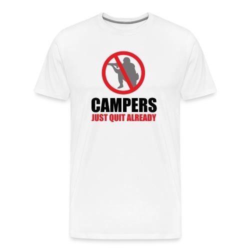 Campers Quit T-Shirt - Men's Premium T-Shirt