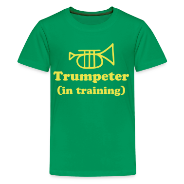 Trumpeter in Training