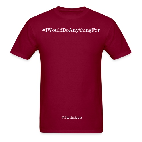 i would do anything for a few more hours of sleep - Men's T-Shirt