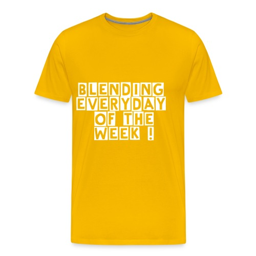 Blending everyday of the week  - Men's Premium T-Shirt