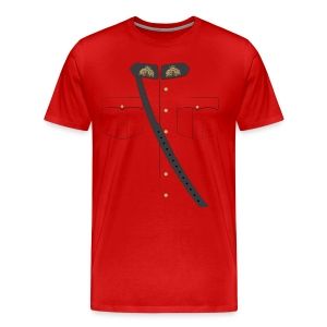 The Mountie - WWF - Men's Premium T-Shirt