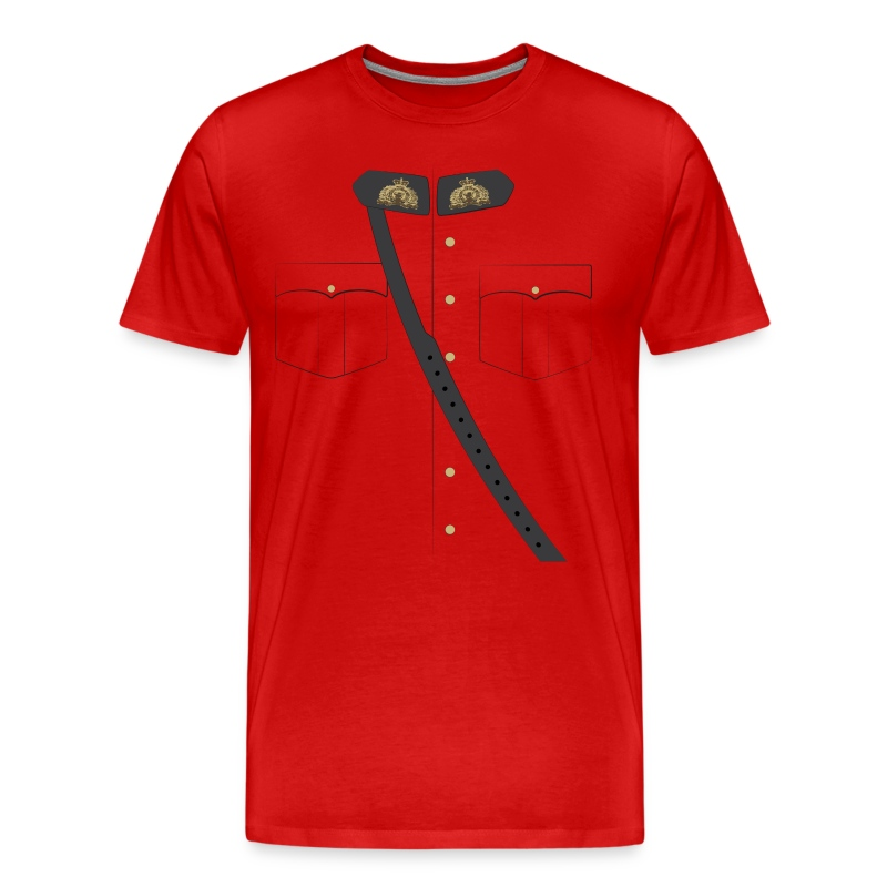 The Mountie - WWF - Men's Premium T-Shirt