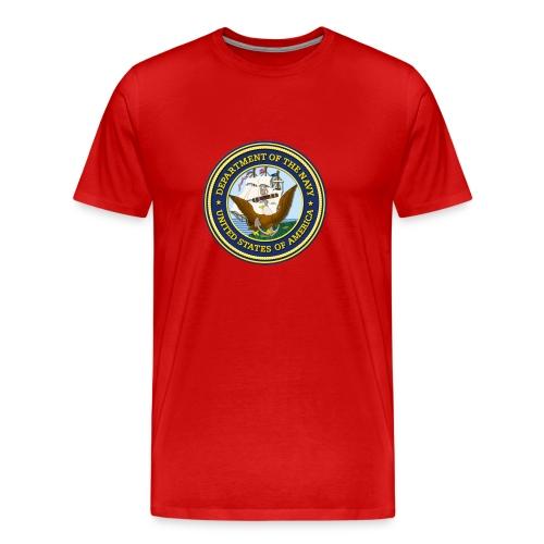 Men's U.S. Navy T-Shirt - Men's Premium T-Shirt