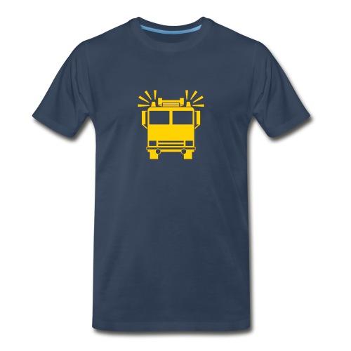 Yellow Trucks Rule! - Men's Premium T-Shirt