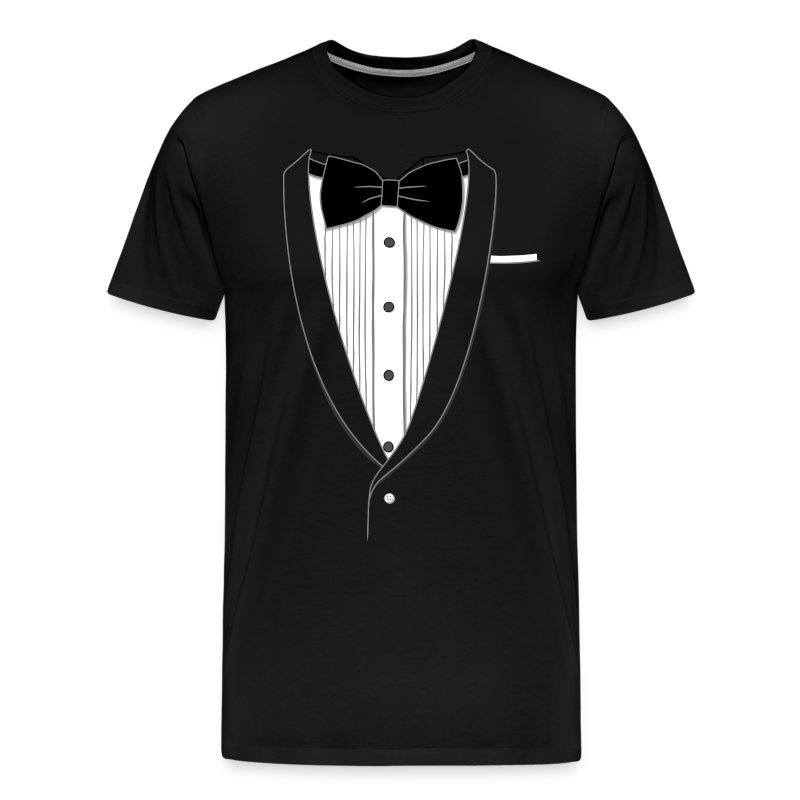 Fake Tuxedo Shirt Classic - Men's Premium T-Shirt