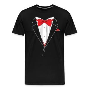 Funny Tuxedo T Shirt - Men's Premium T-Shirt