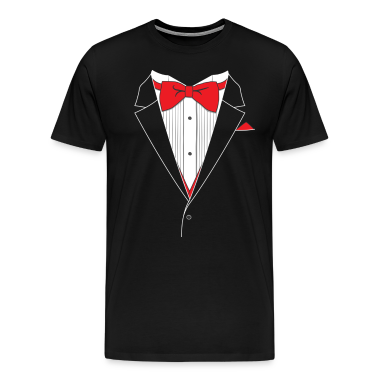 Women's tuxedo t-shirts in lots of colors and styles. Shop the widest select of tuxedo tees for women.