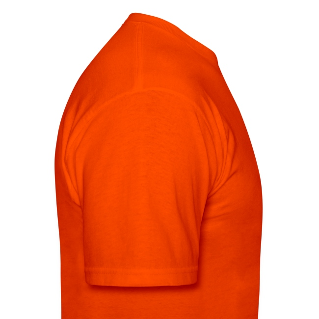Tuxedo T Shirt Deluxe Orange