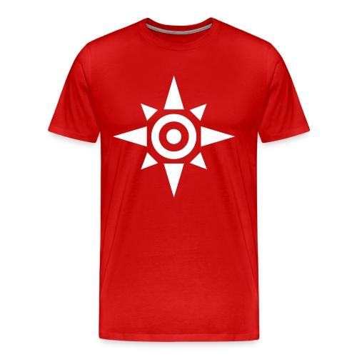 Symbol of Courage - Reverse - Men's Premium T-Shirt