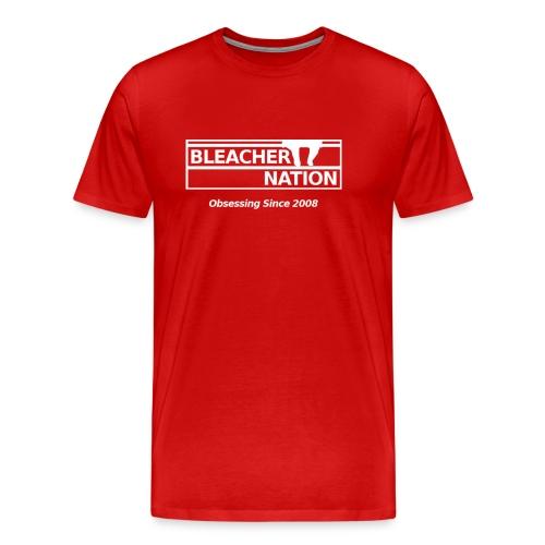 BN - Obsessing Since 2008 Heavyweight T-Shirt (Men's) - Men's Premium T-Shirt