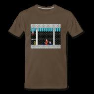 T-Shirts ~ Men's Premium T-Shirt ~ SFB Men't T-Shirt with Link from Zelda (white text)