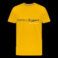 T-Shirts ~ Men's Premium T-Shirt ~ Faith and Arrogance