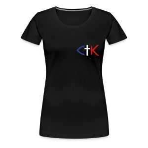 CTK Fish A Women's Plus Size T-Shirt - Dark colors - Women's Premium T-Shirt