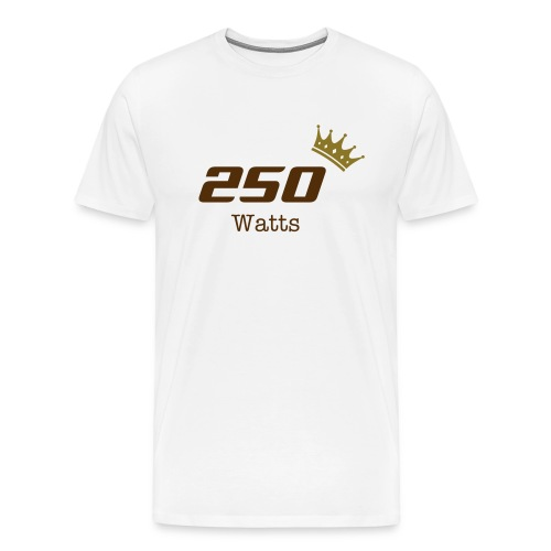 Royal Watts Collection - 250 Watts - natural - Men's Premium T-Shirt