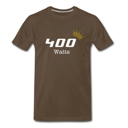 Royal Watts Collection - 400 Watts - brown - Men's Premium T-Shirt